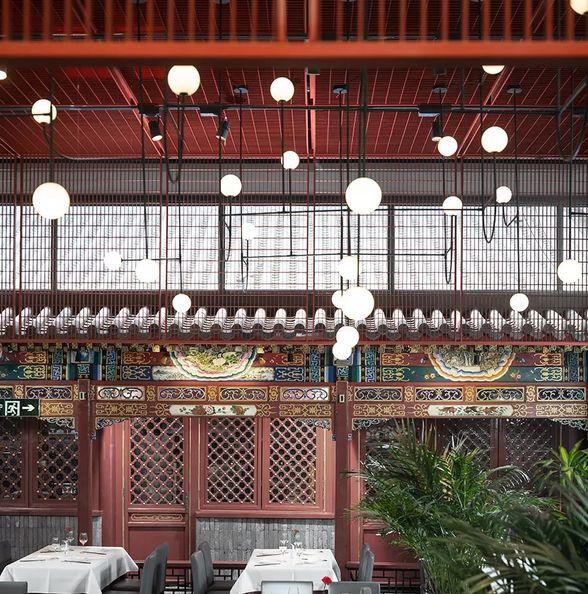 传统四合院里的餐饮店,京韵文化与现代设计的融合