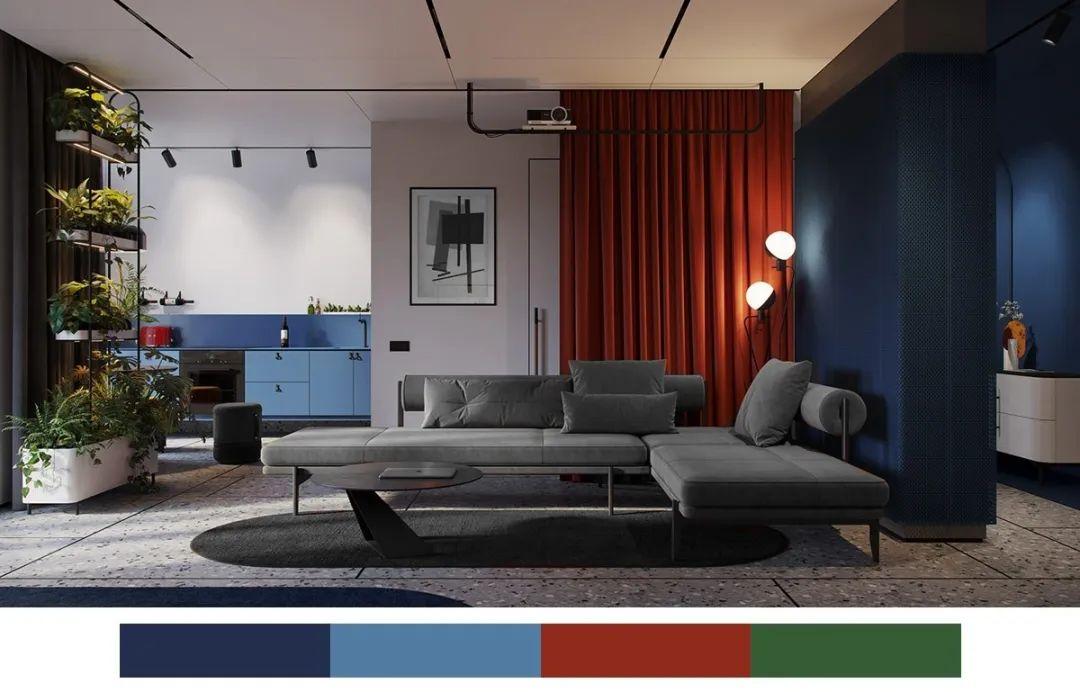 色彩填空 | 如何打造时尚的复古空间