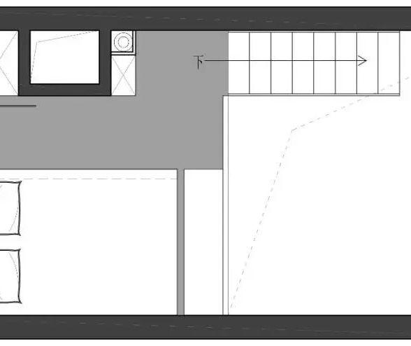 22平loft公寓,长条形的空间,还是这样设计好!