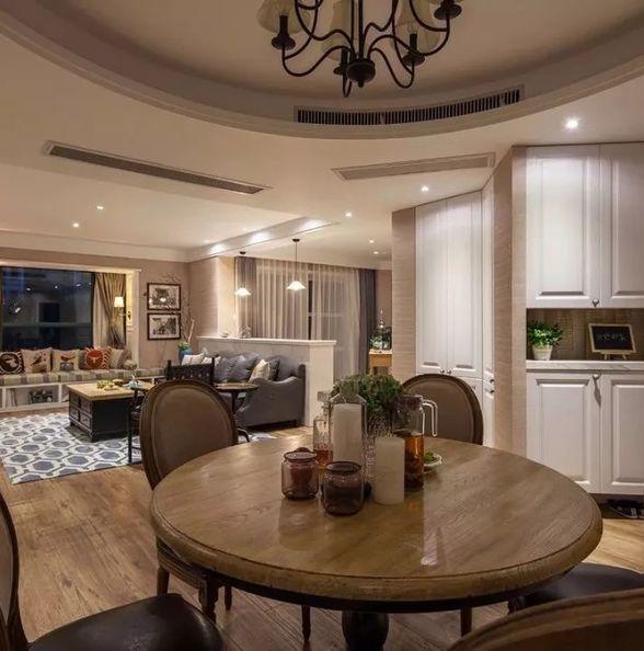 203平的美式风大宅,格局虽然独特,却设计得典雅大方