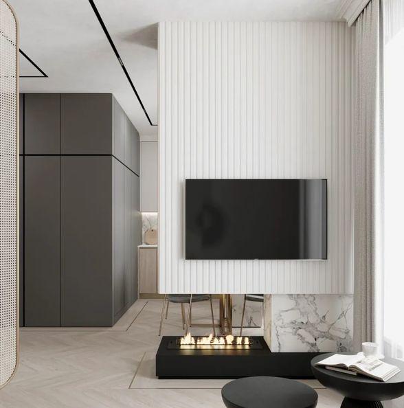 混搭公寓式酒店设计,轻奢质感!
