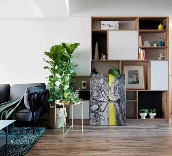 60平现代简约二居室,实在太适合二人世界了~