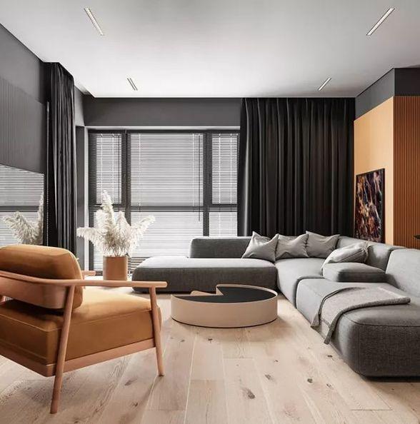 案例 | 78㎡现代轻奢两居室,小户型装出高气质!