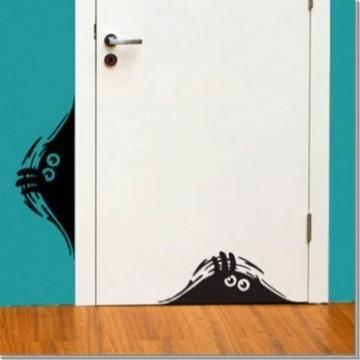 让您的房子与众不同的黑白色的手绘墙