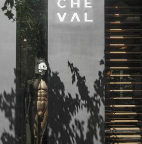 游牧生活方式的Cheval酒吧咖啡厅装修效果图