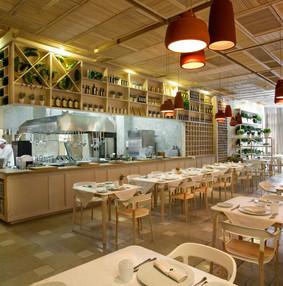 乌克兰基辅也有MUJI风格装修效果图的环保餐厅,小清新必去