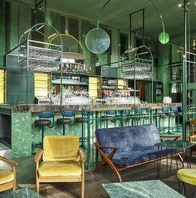 街角雨林+都市绿野 - 阿姆斯特丹酒吧设计