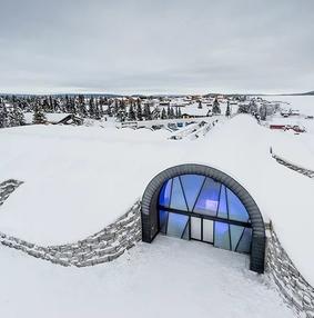 冰旅馆365:北极圈以北,世界上第一个永久性冰雪酒店