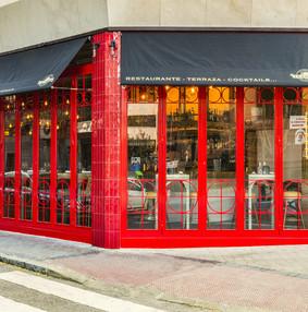 国外餐厅空间装修效果图
