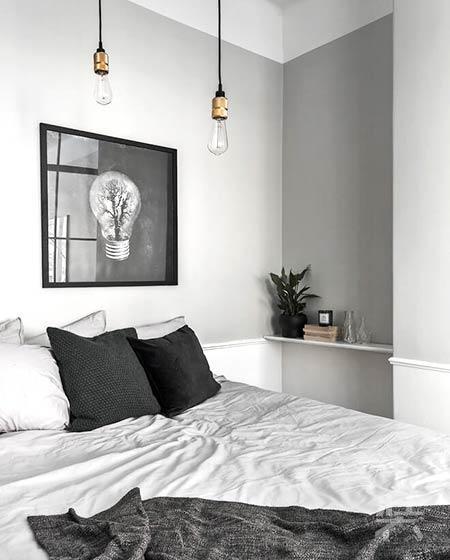一居室小户型灰色系装修图片_非常装效果图交易平台