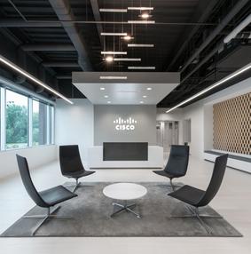 Cisco思科fulton办公室空间设计