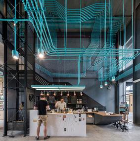 曼谷咖啡馆创意空间设计