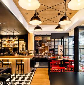 雅典La Pasteria意大利美食餐厅设计