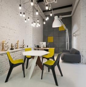 俄罗斯新闻网站Gazeta.ru办公室空间设计
