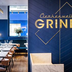 仓库改造的Clerkenwell Grind餐厅和酒吧
