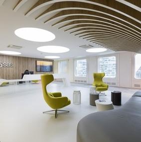 分析软件开发商SAS巴黎办事处办公空间设计