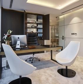 迪拜Dinor房地产公司办公空间设计