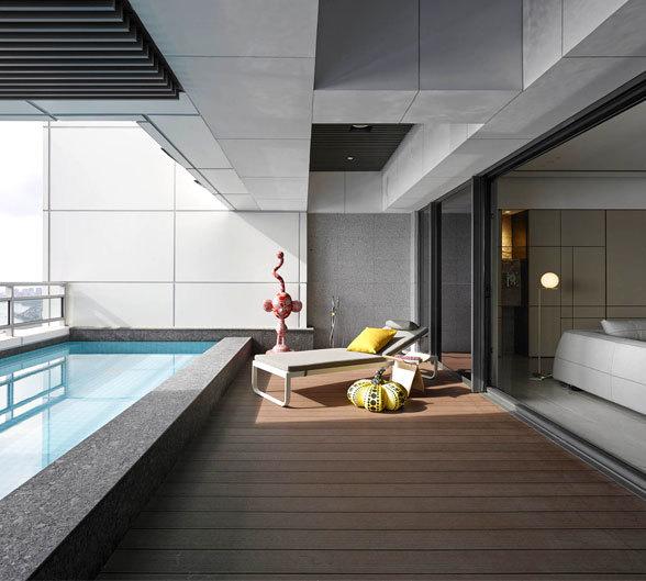 简约装修风格气质住宅装修设计效果欣赏