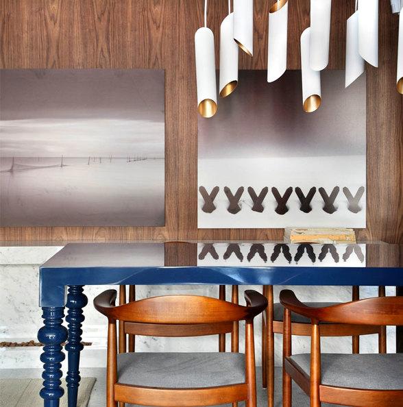 实木饰面艺术精致家装公寓设计效果图