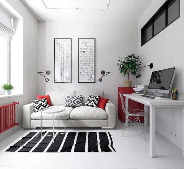 3个精致的一居室小户型设计