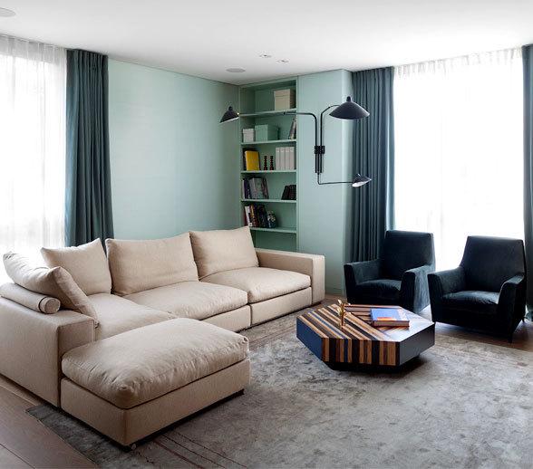 优雅温馨的艺术现代住宅设计