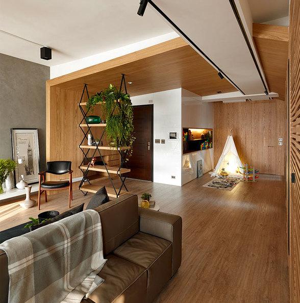 开放式装修空间现代风格装修效果设计