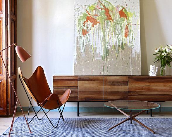 精致的复古风自然风格公寓设计