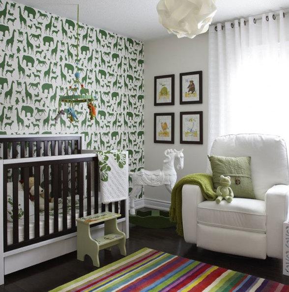 14个国外符合婴儿色彩心理学的婴儿房装修设计