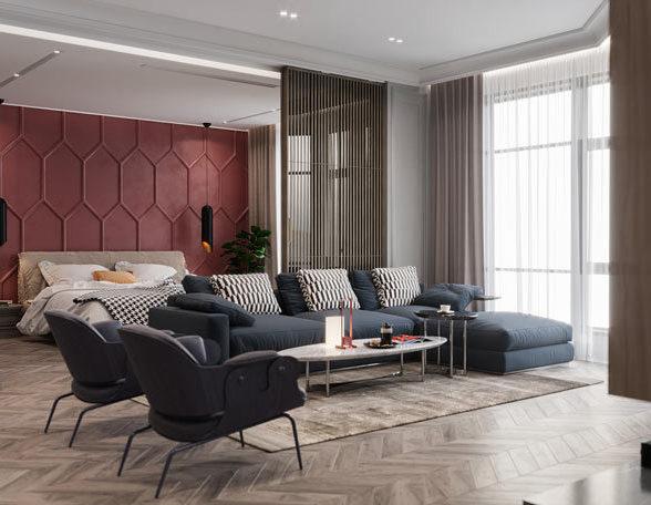 法国风情的公寓设计