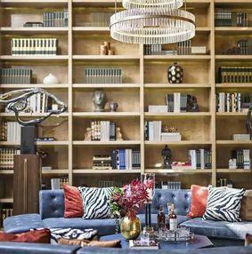 一个人的家里,最能代表他的,还是书架设计