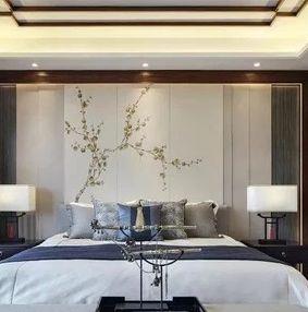 新中式卧室优雅如画,心向自在!