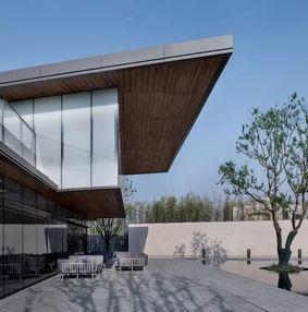 820 m²潮起东方销售中心设计落地方案