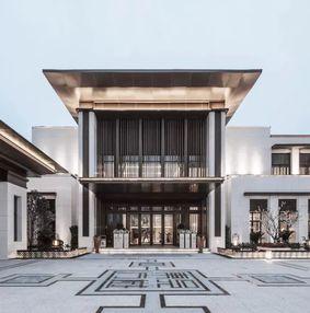 东方美学售楼处设计,表达出极具传统哲学的人居意境!