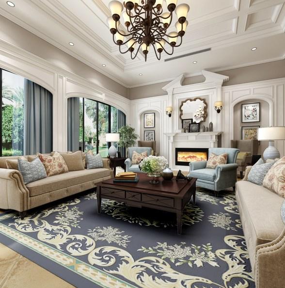 美式房屋别墅装修效果图全套赏析