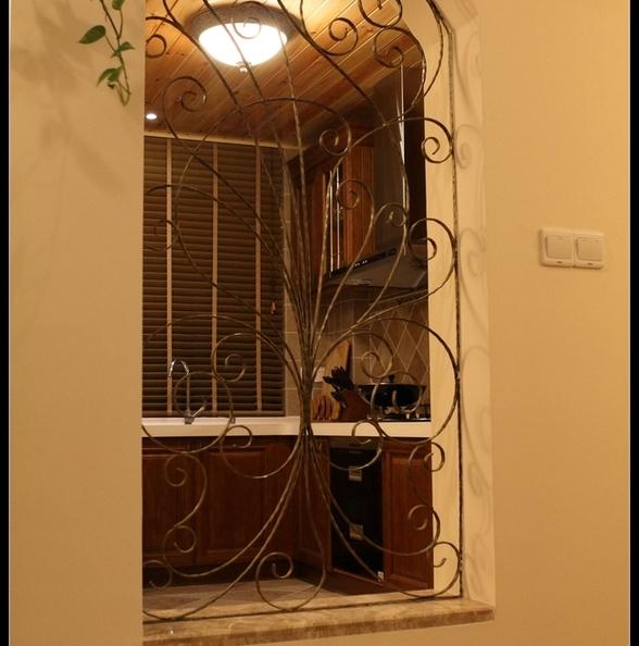 铁艺弧形窗家装效果图