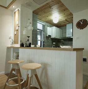 日式二居之家厨房设计图