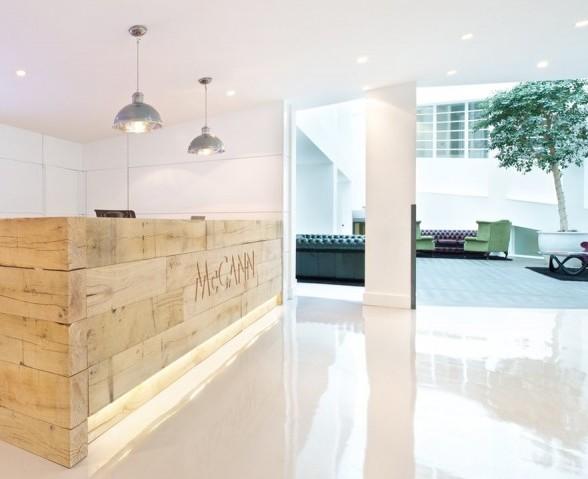 国外实木吧台办公室设计