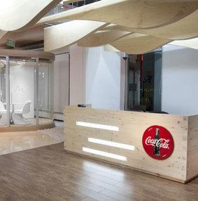 可口可乐办公室装修设计图