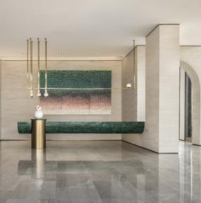将售楼处打造成高颜值的艺术空间