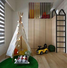 儿童房柜床