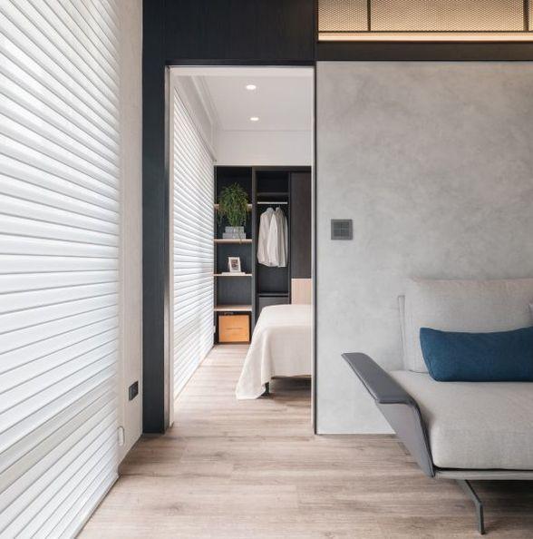 台北都会潮流小公寓,自由弹性空间设计