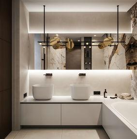 浴缸卫生间