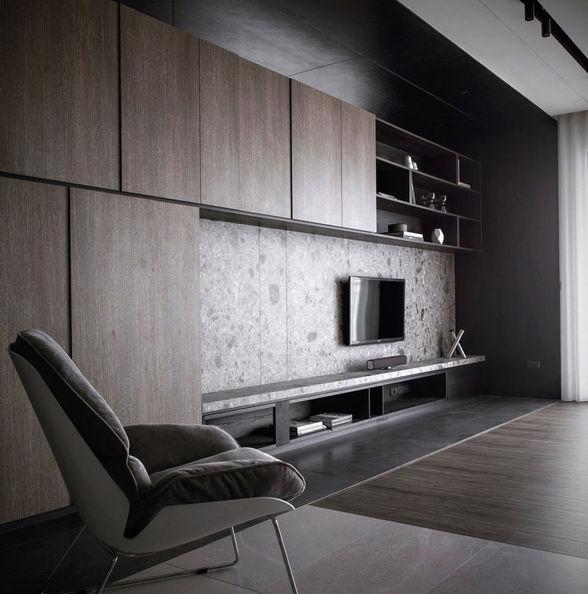 台湾设计最喜欢石材和实木