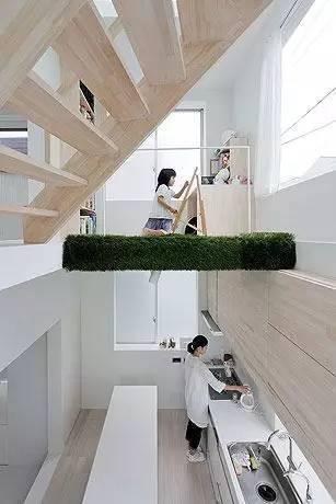 喜欢这样的小空间。