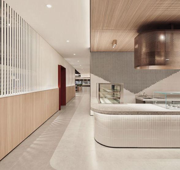 于强室内设计|深圳湾一号T7员工食堂